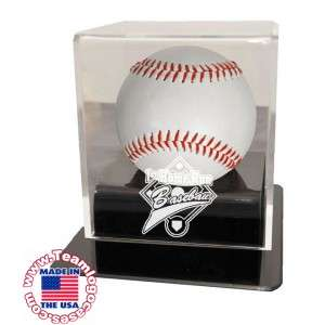 First Home Run Baseball Case With Acrylic Base